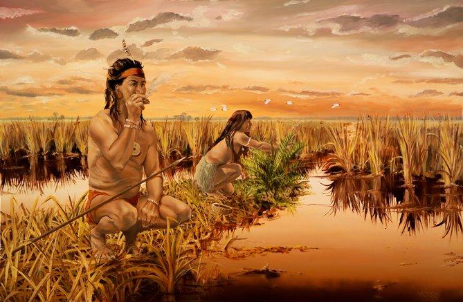 Tequestas in Everglades
