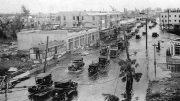 Flooded Street in Miami in 1926
