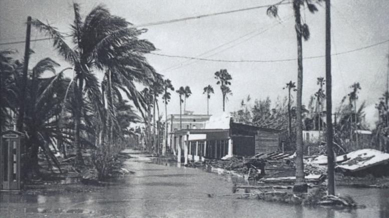 Hurricane Donna in 1960